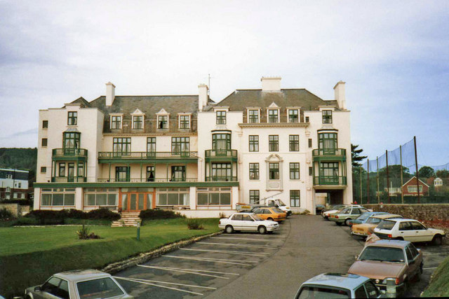 File Belmont Hotel Sidmouth Devon Geograph Org Uk 679912