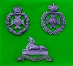 Bermuda Volunteer Rifle Corps Badges