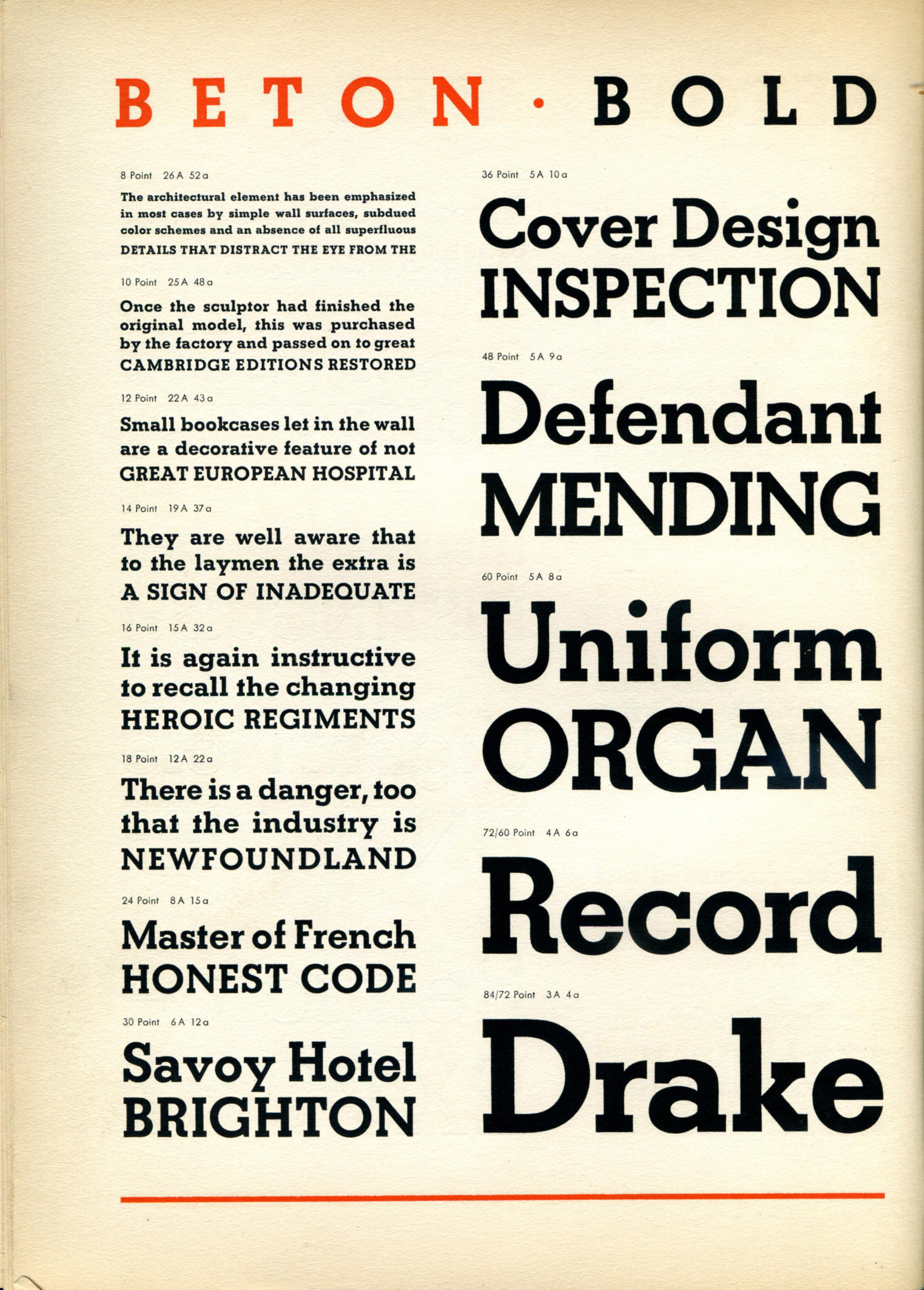 Neutraface slab bold font