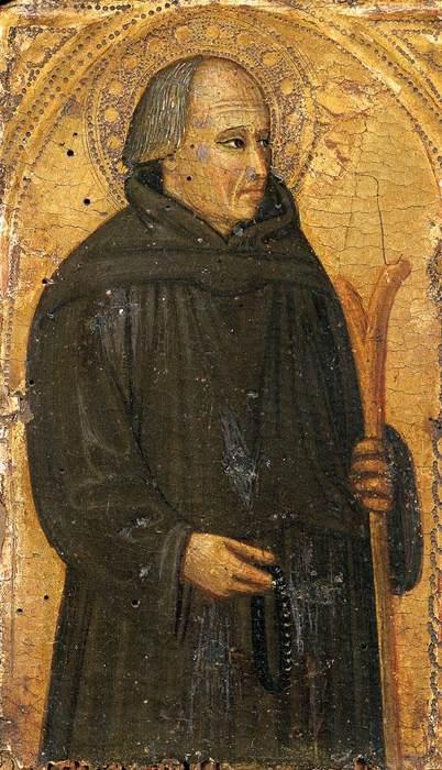 Bicci di Lorenzo (1373-1452): Portrett av den salige Gerhard av Villamagna, tidlig 1400-t