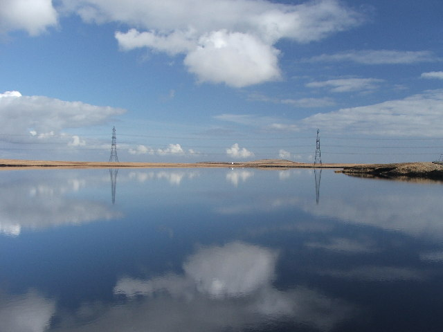 Blackstone Edge Reservoir. - geograph.org.uk - 123836