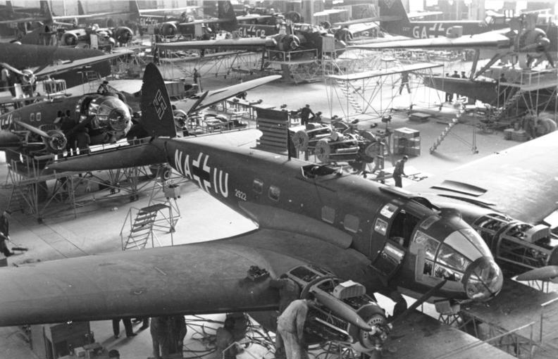 German Aircraft Production During World War II