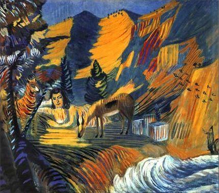 «Море. Сфинкс», 1908