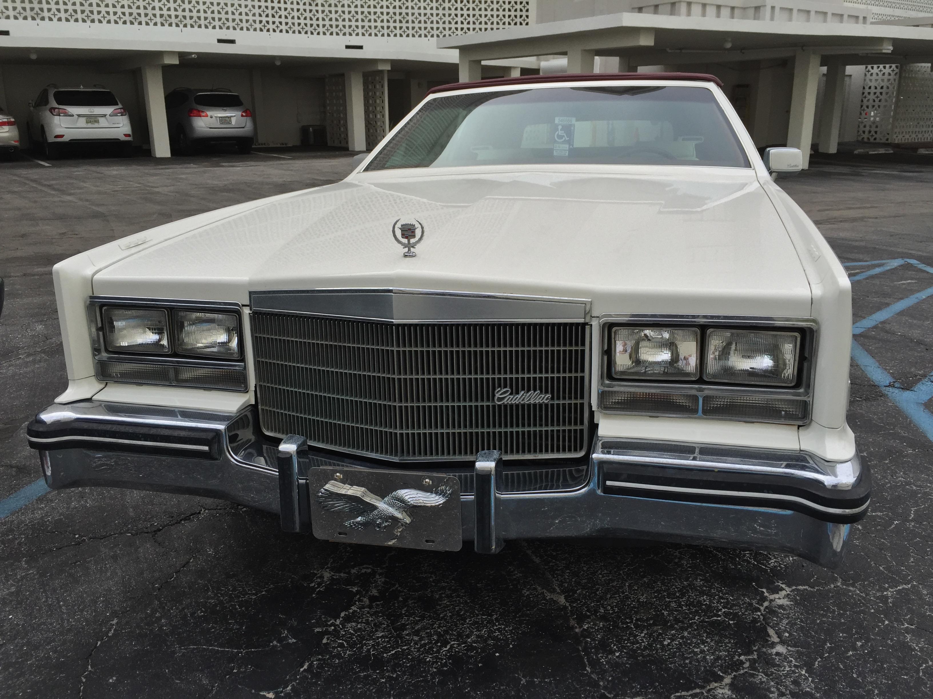 File Cadillac Eldorado Biarritz Convertible White Red Florida 5 Jpg