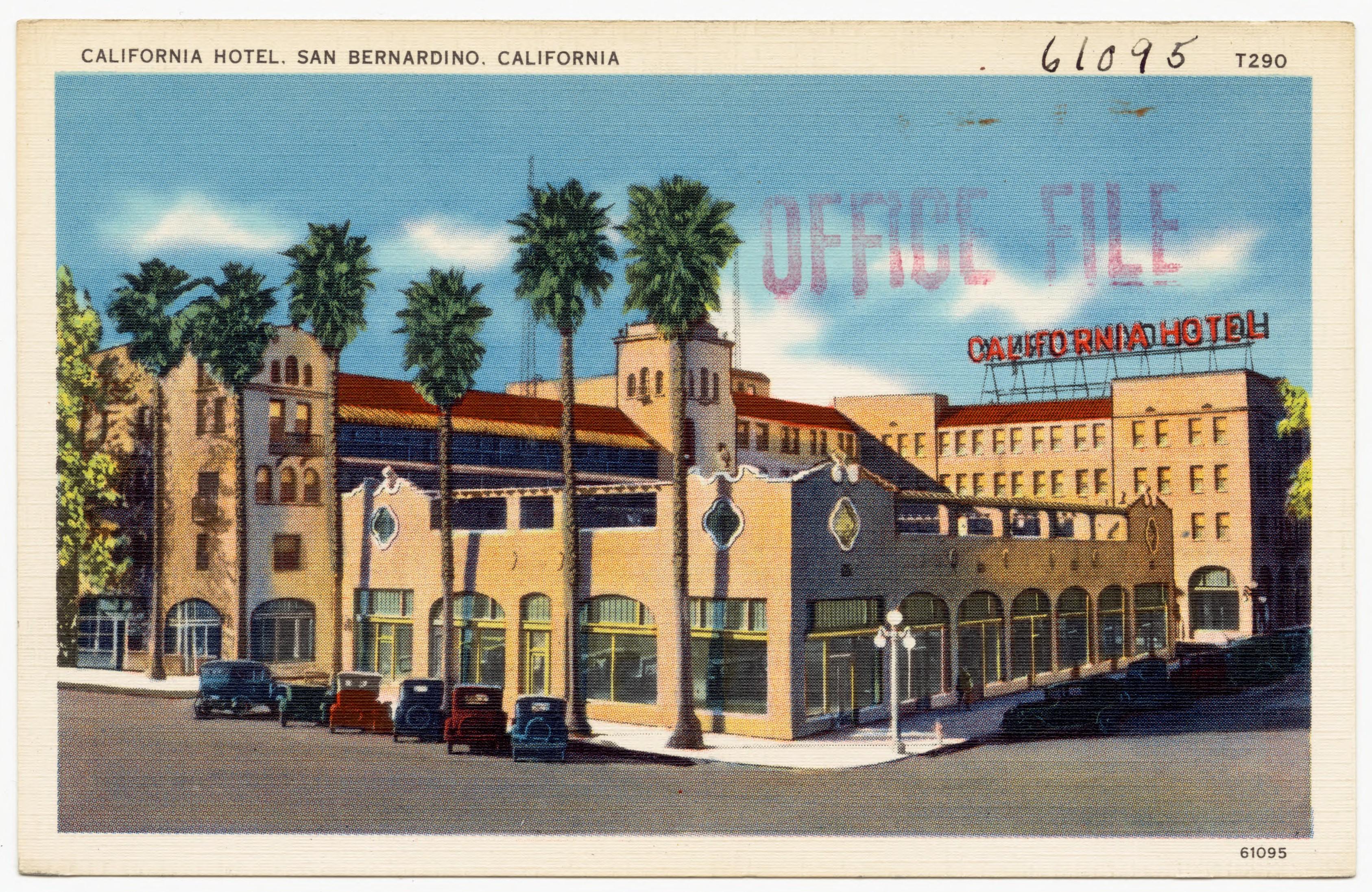 FileCalifornia Hotel San Bernardino California 61095