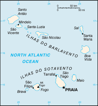 List of islands of Cape Verde - Wikipedia