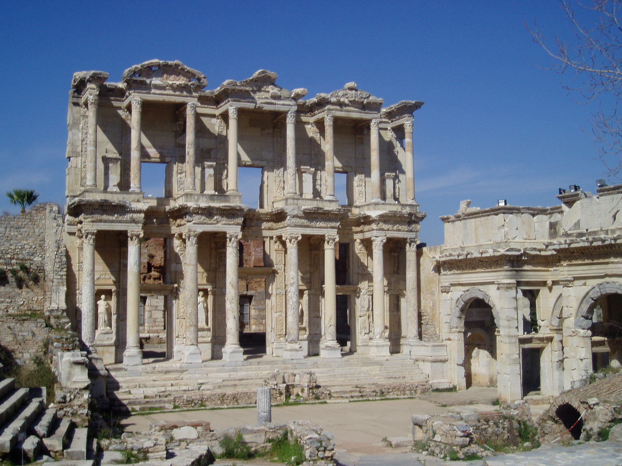 Celsus library, Ephesos, Turkey