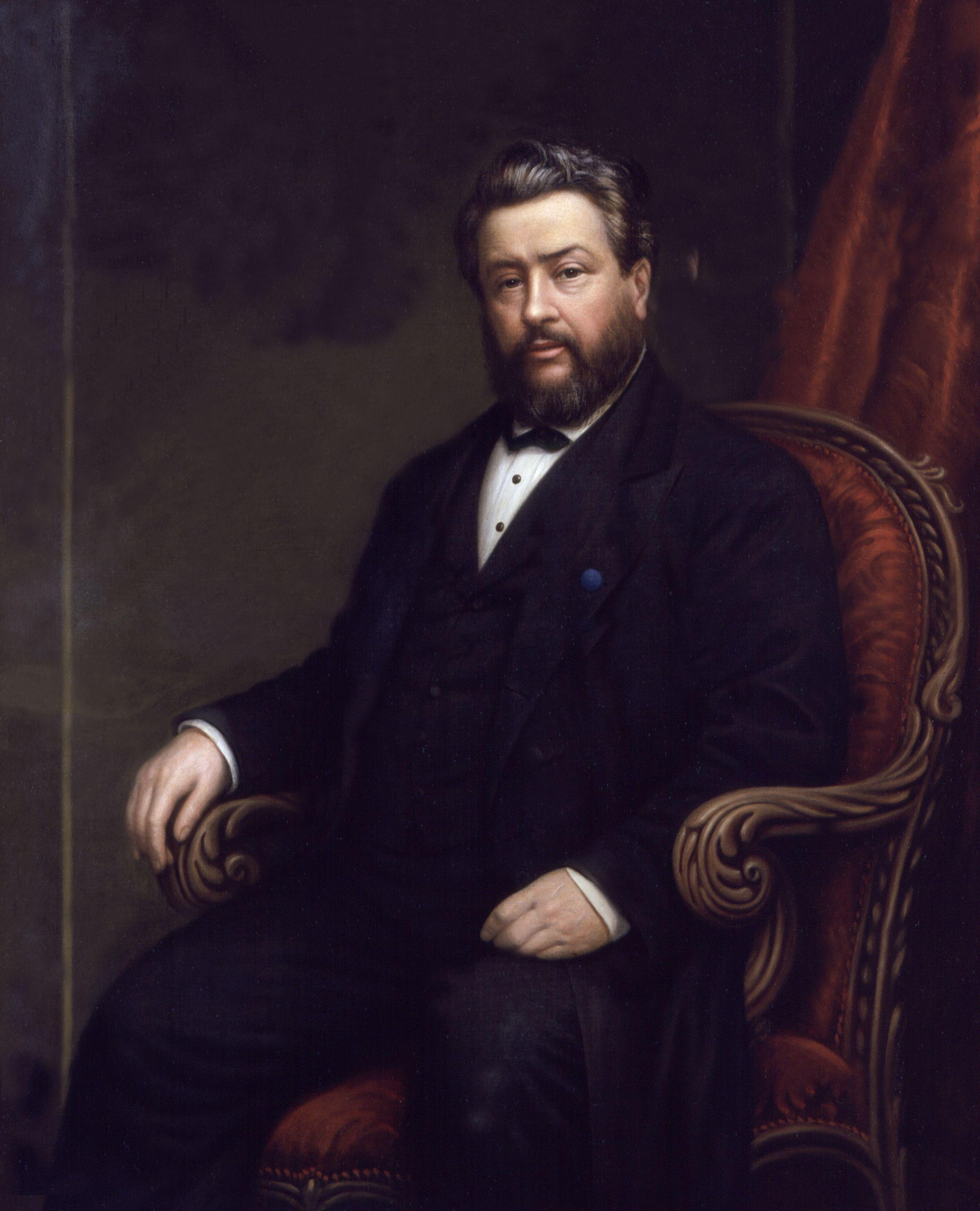 Portrait of Spurgeon by [[Alexander Melville (artist)|Alexander Melville]] (1885)