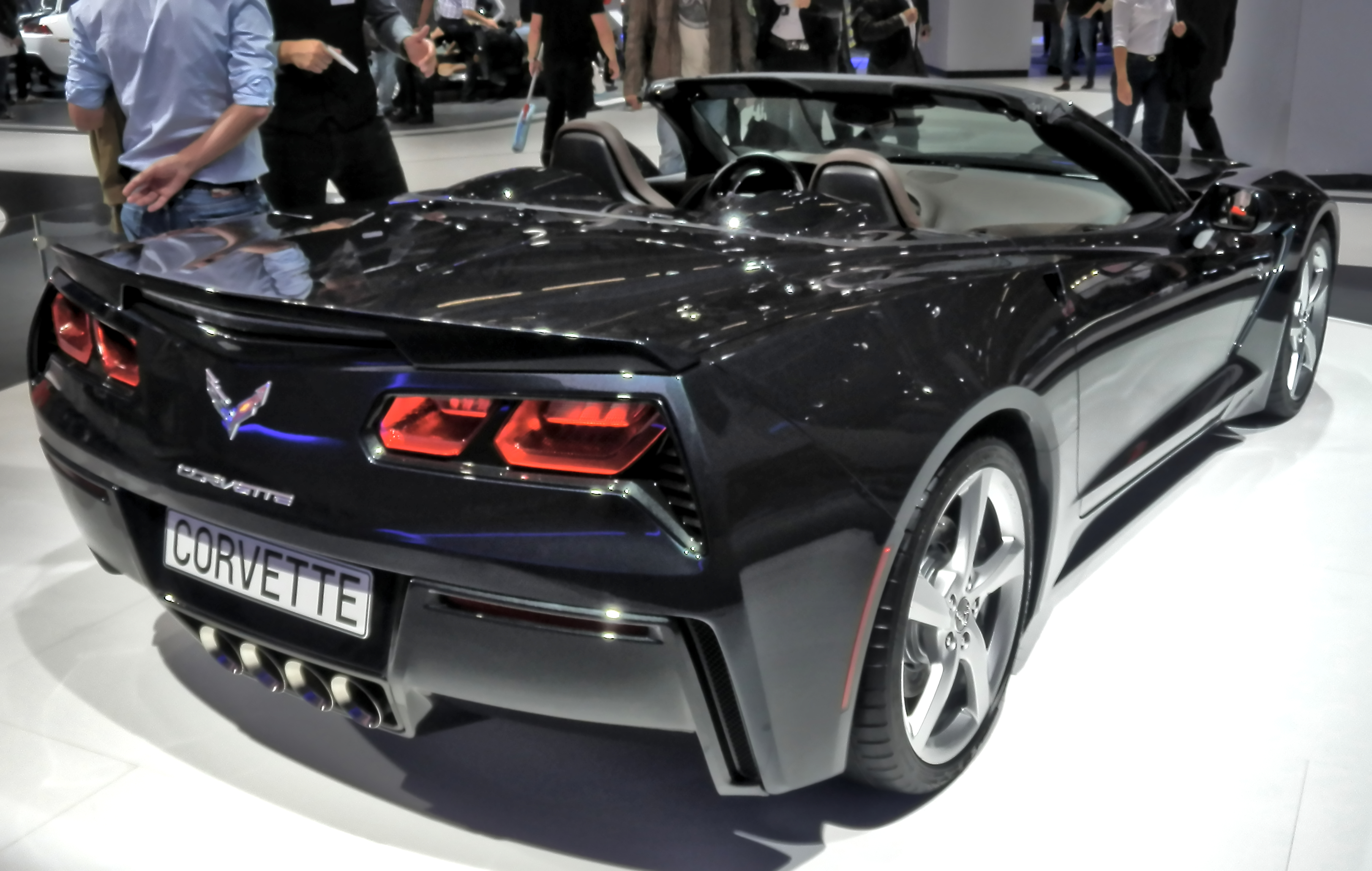 File:Chevrolet Corvette C7 Convertible Back IAA 2013