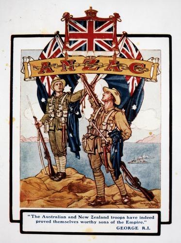 World war 1 date in Melbourne
