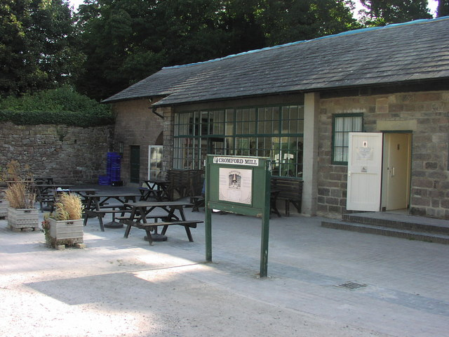 Cromford Mill Cafe - geograph.org.uk - 1285645