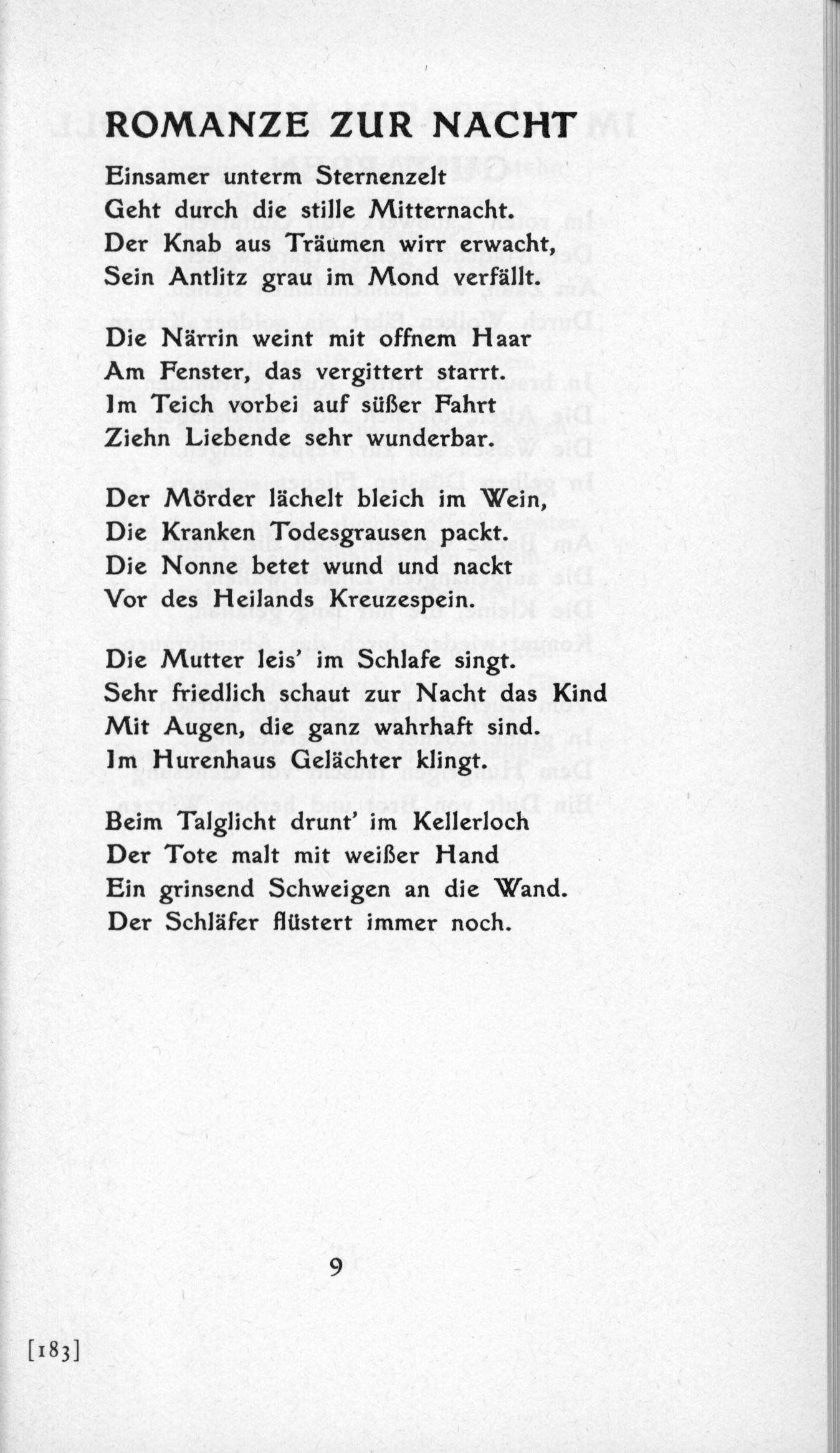Filede Trakl Gedichte 1913 09jpg Wikimedia Commons
