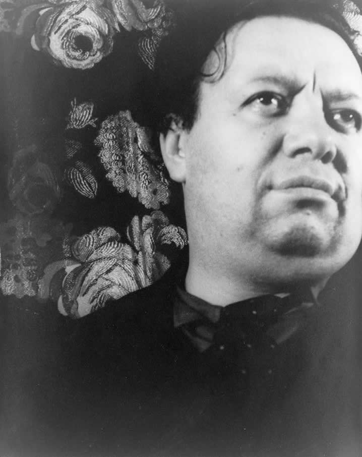 Diego Rivera Self Portrait Cubism