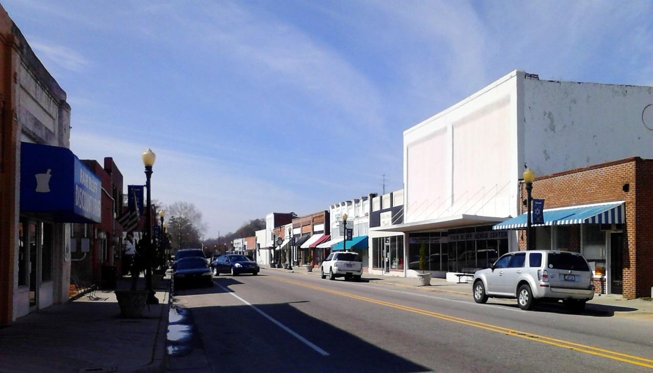 Downtown Fair Blufffair bluff town