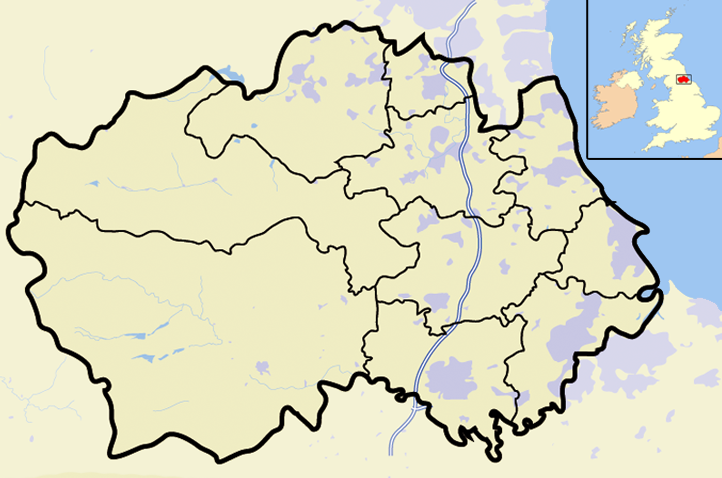Map Of England Durham.File Durham Outline Map With Uk Png Wikimedia Commons