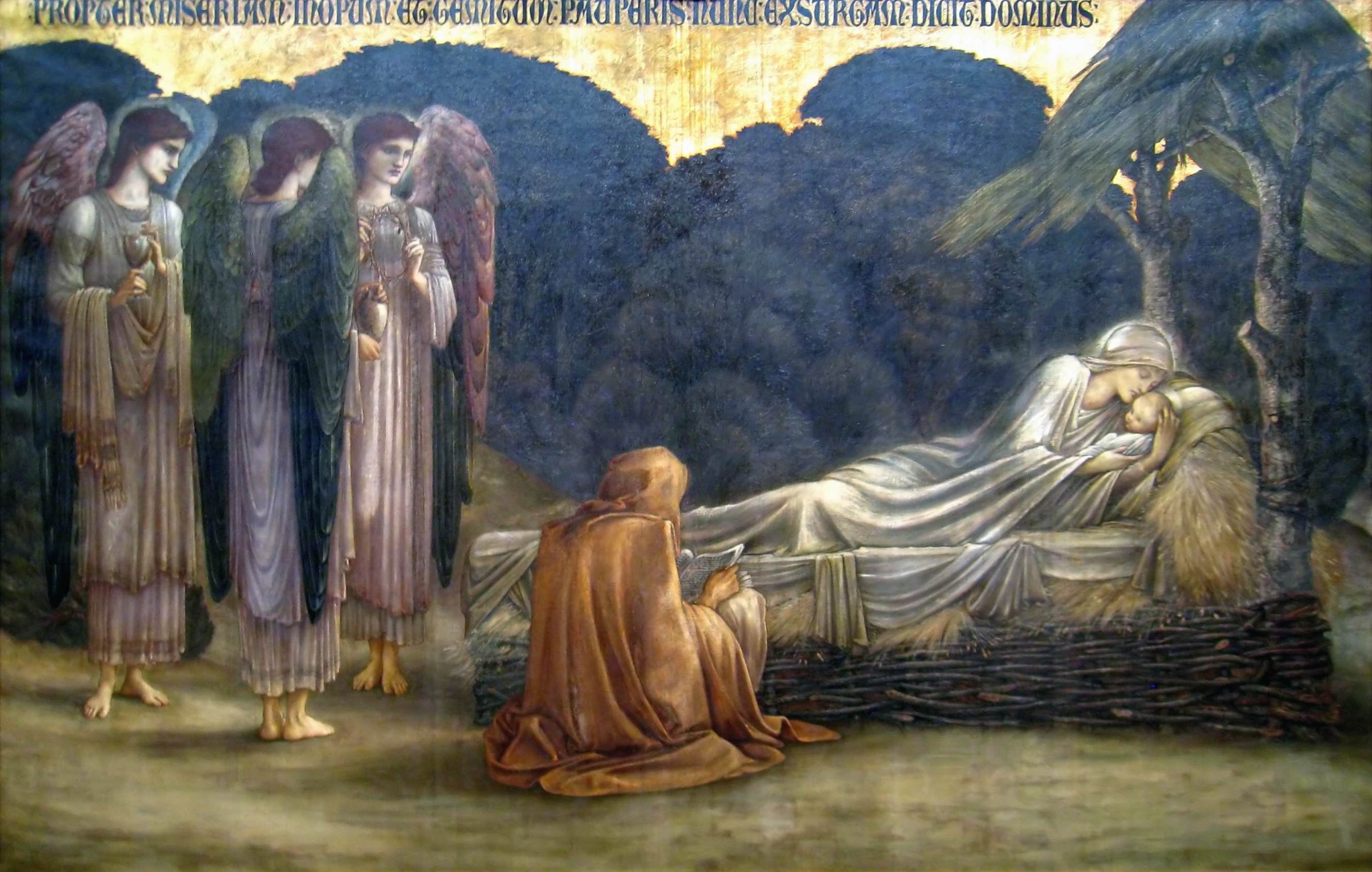 the nativity burne jones wikipedia