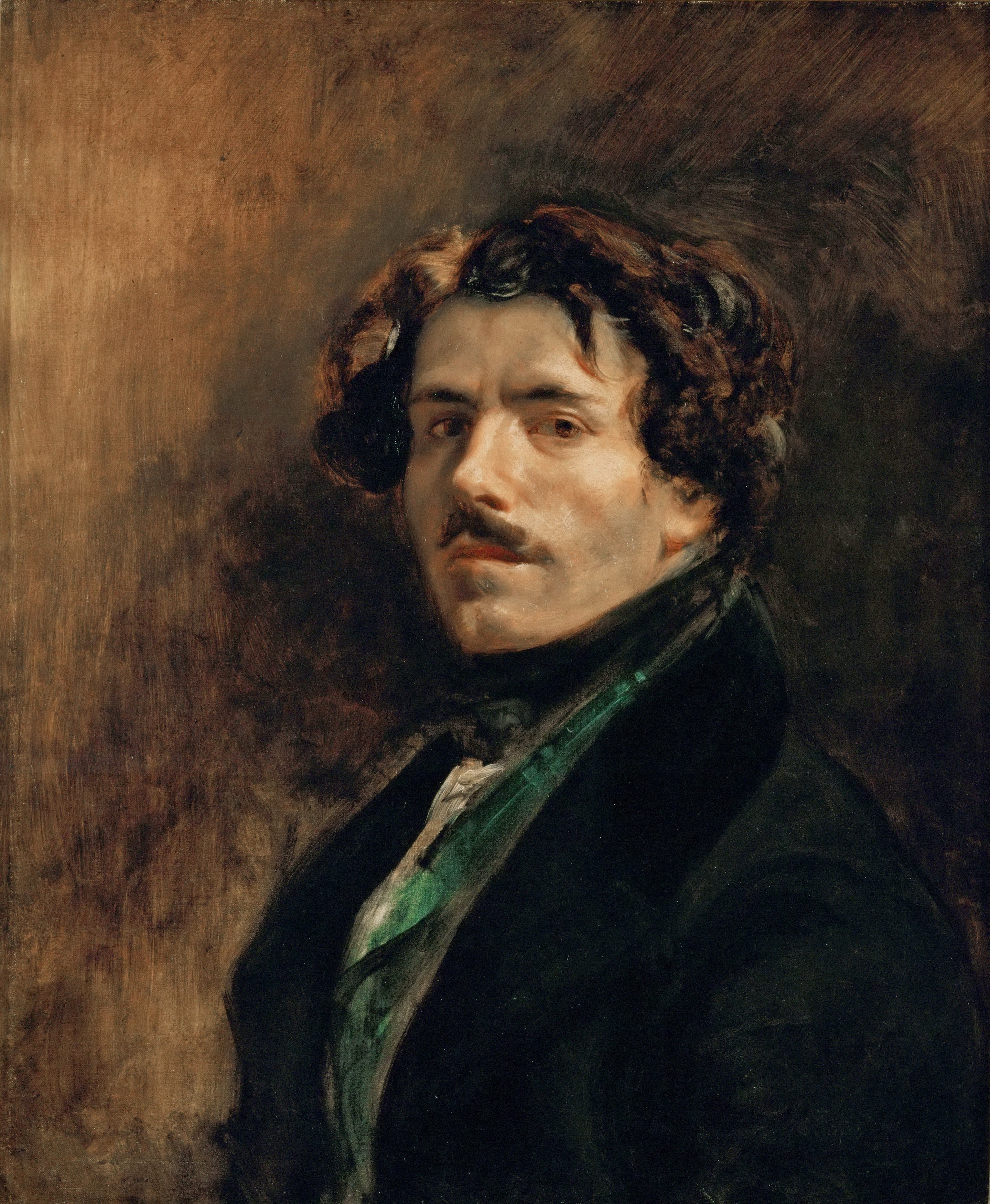 Image of Eugène Delacroix from Wikidata