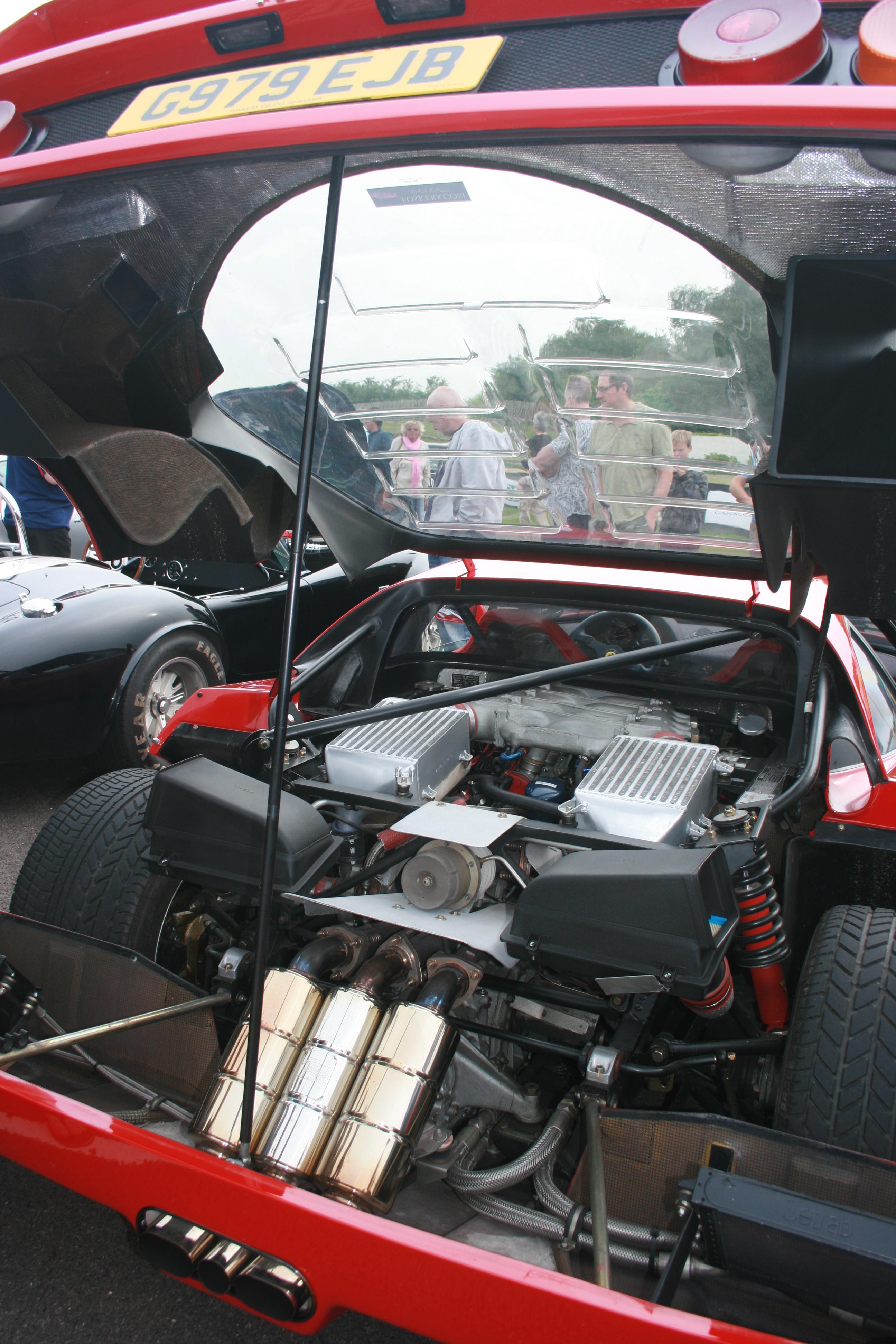 File Ferrari F40 Engine Bay Flickr