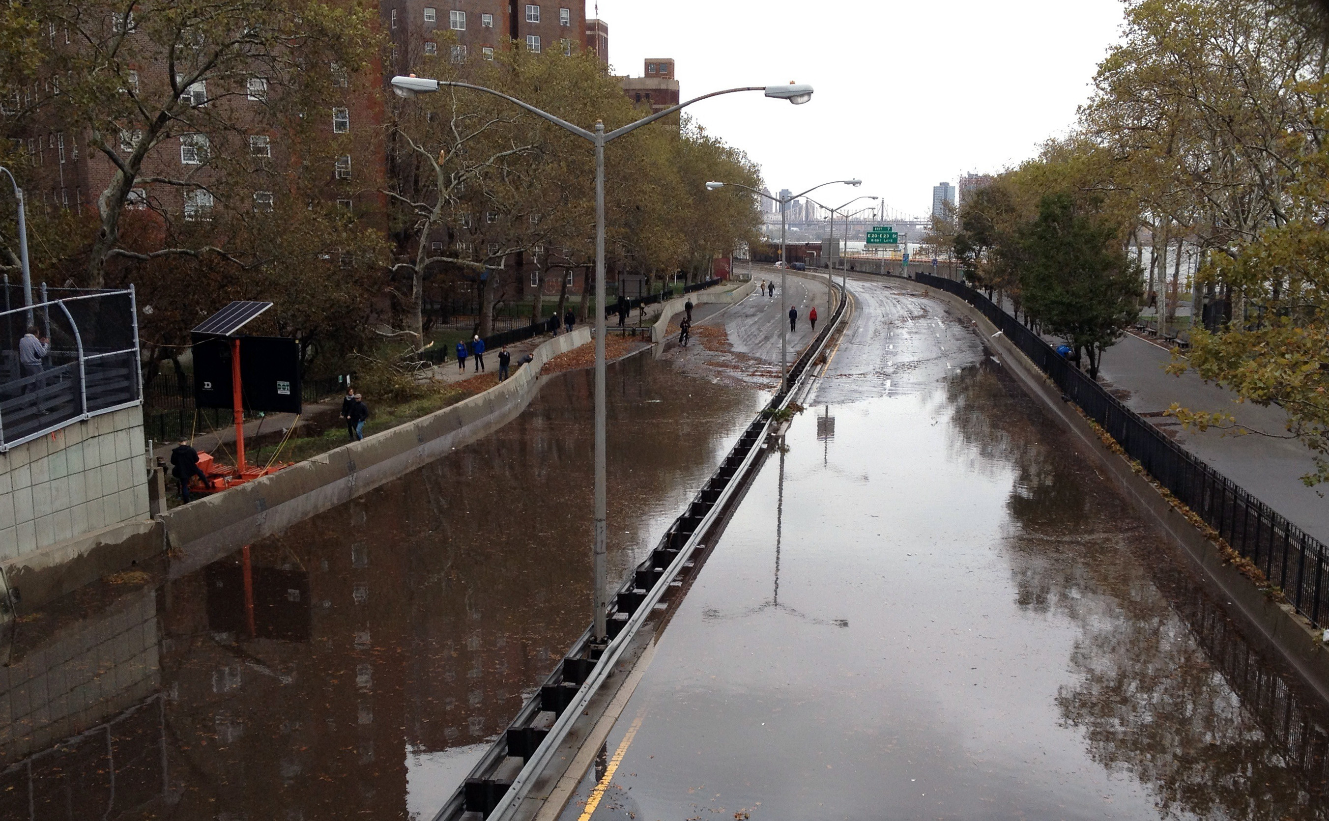 Hurricane Sandy, Flooding, FDR Drive
