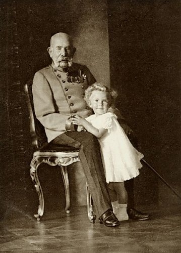Kaiser und König Franz Josef und Erzherzog Otto