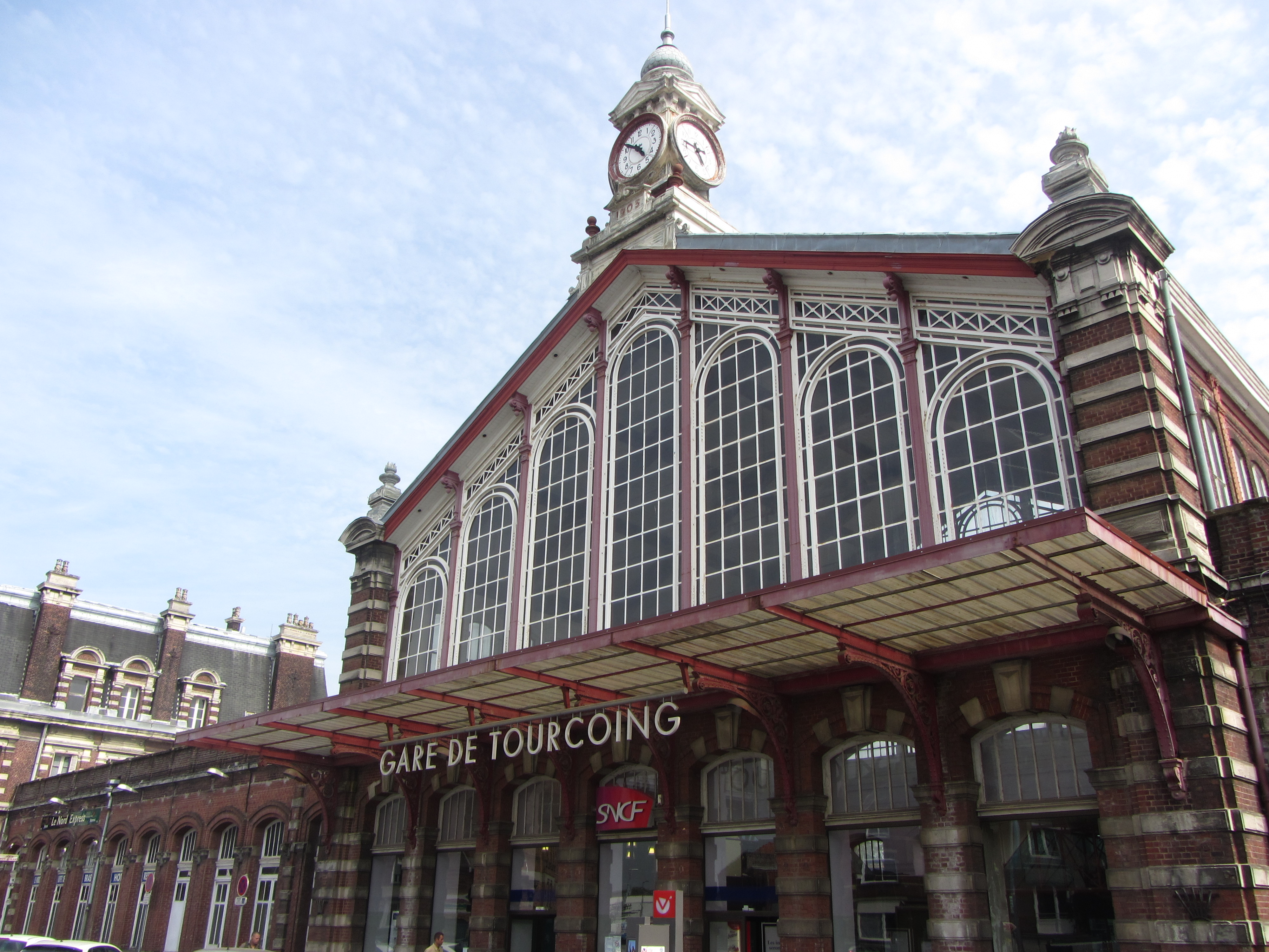 Tourcoing France  city images : Gare de Tourcoing, France Wikimedia Commons