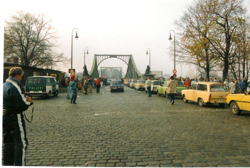 Glienicke Bridge 1989