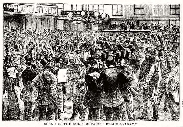Historia del Black Friday, 24 de septiembre de 1869
