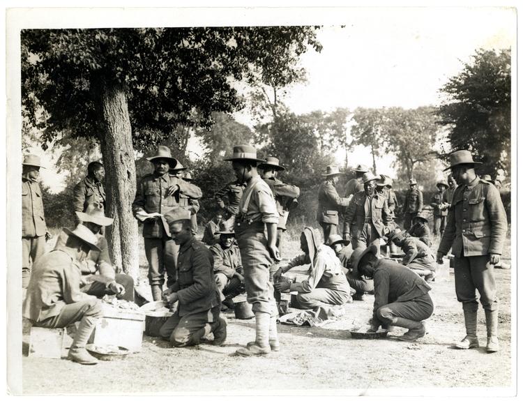 File:Gurkhas preparing and cooking food St Floris, France (Photo 24-66).jpg