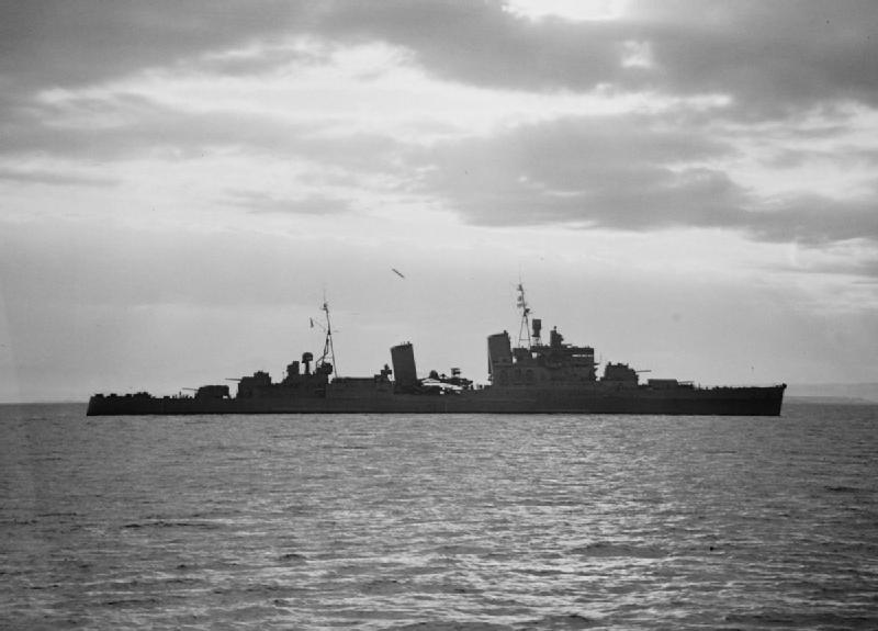 HMS Manchester Taken From HMS Ashanti. 3 July 1942. A10219.jpg