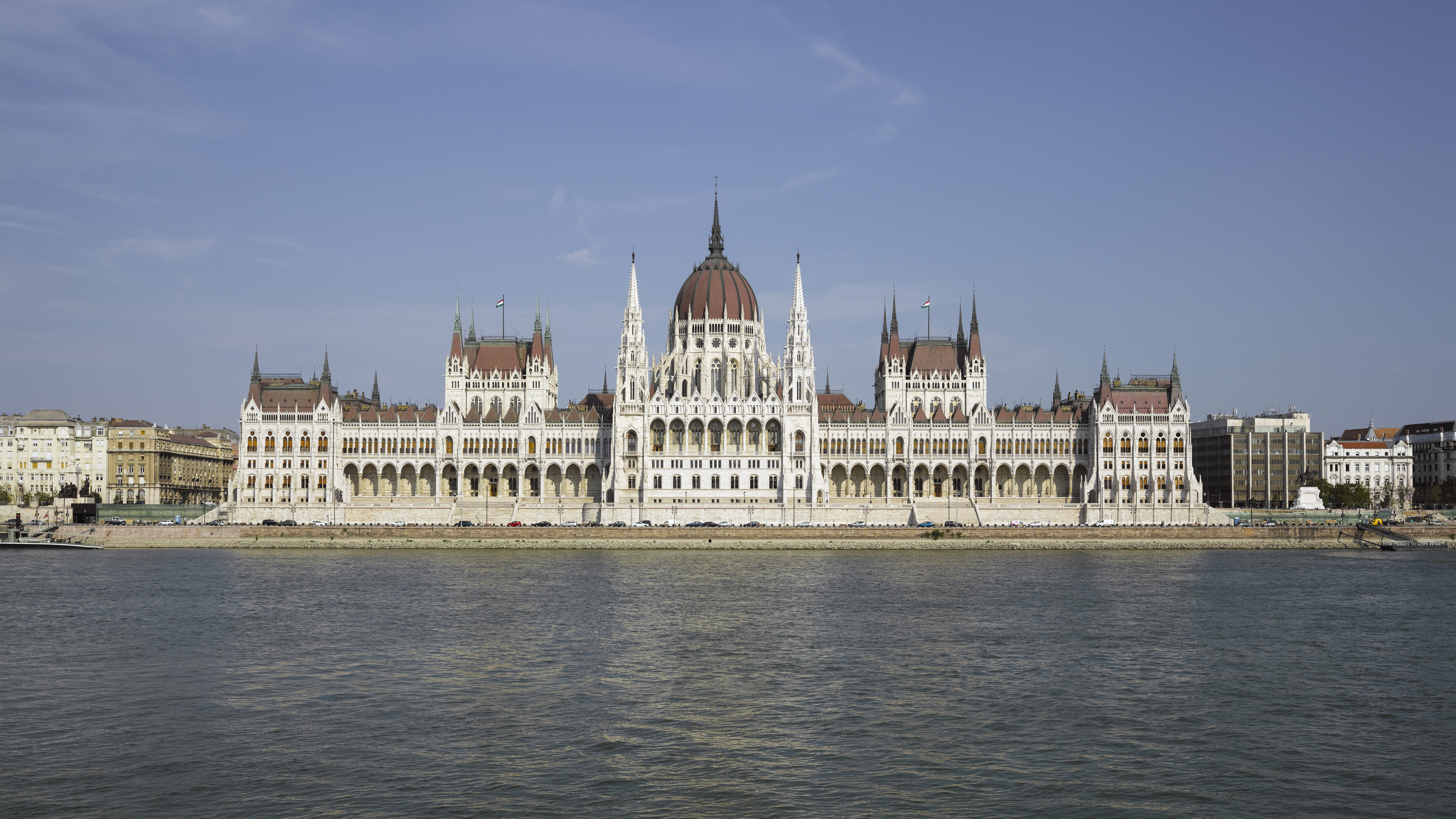 The capital of Hungary, Budapest. History of Hungary, flag, cities 93