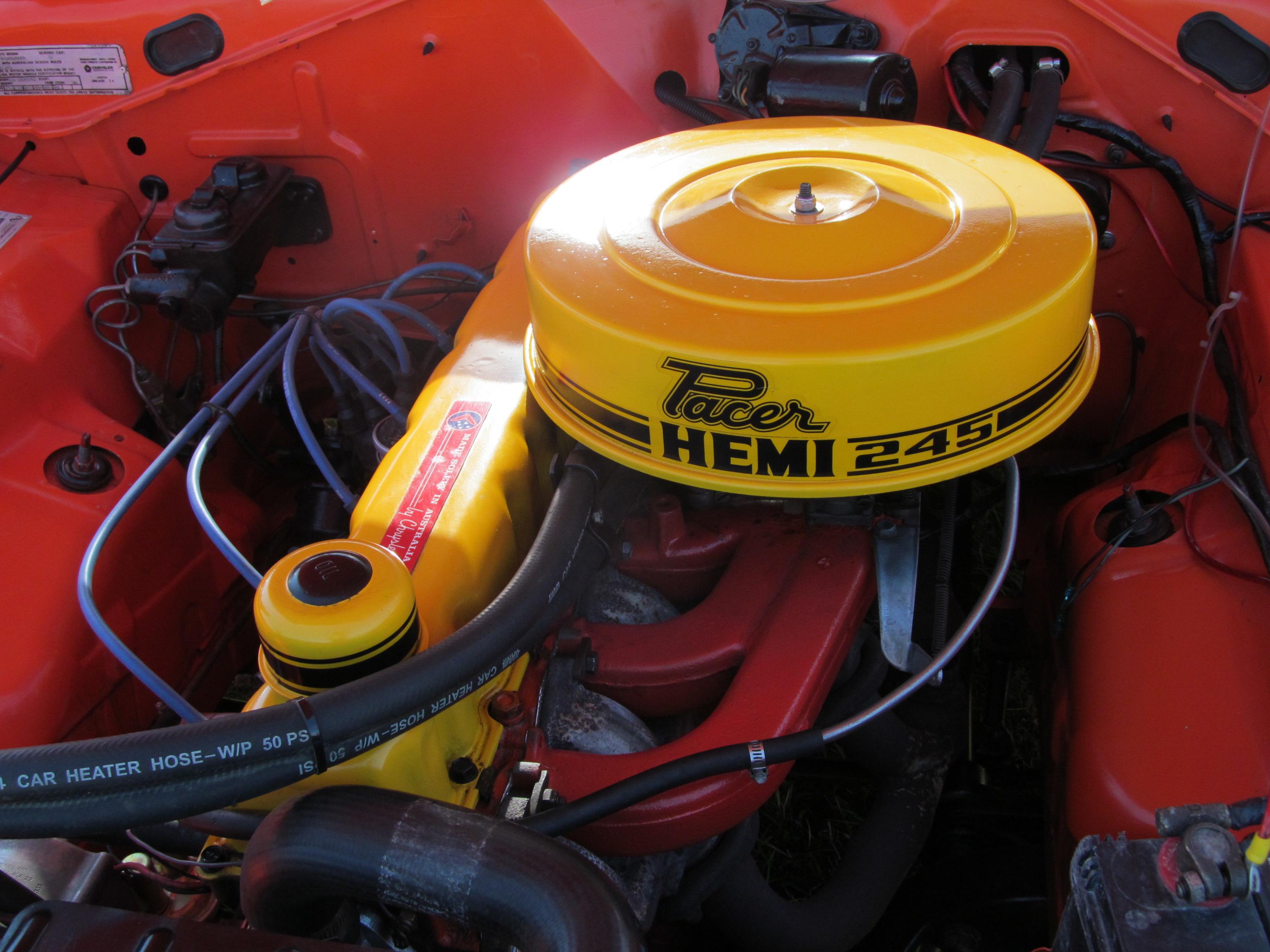 chrysler hemi-6 engine