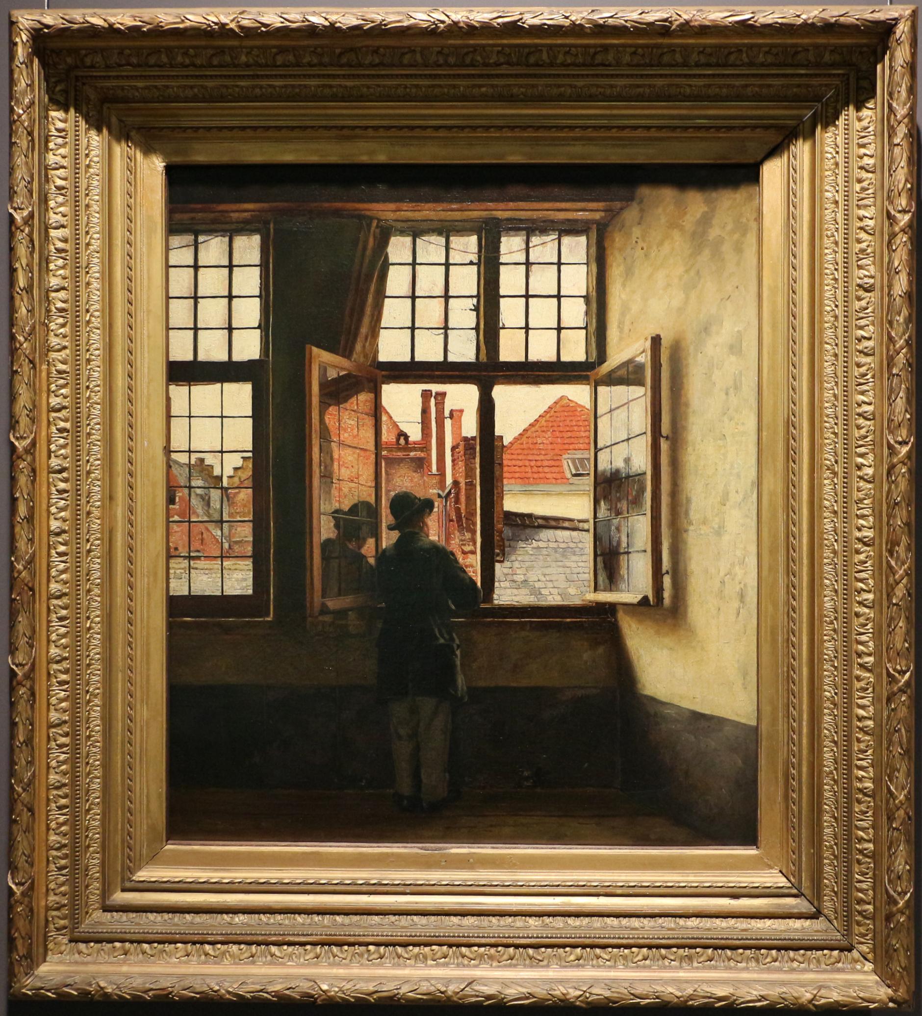 file henri de braekeleer l 39 uomo alla finestra 1873 76