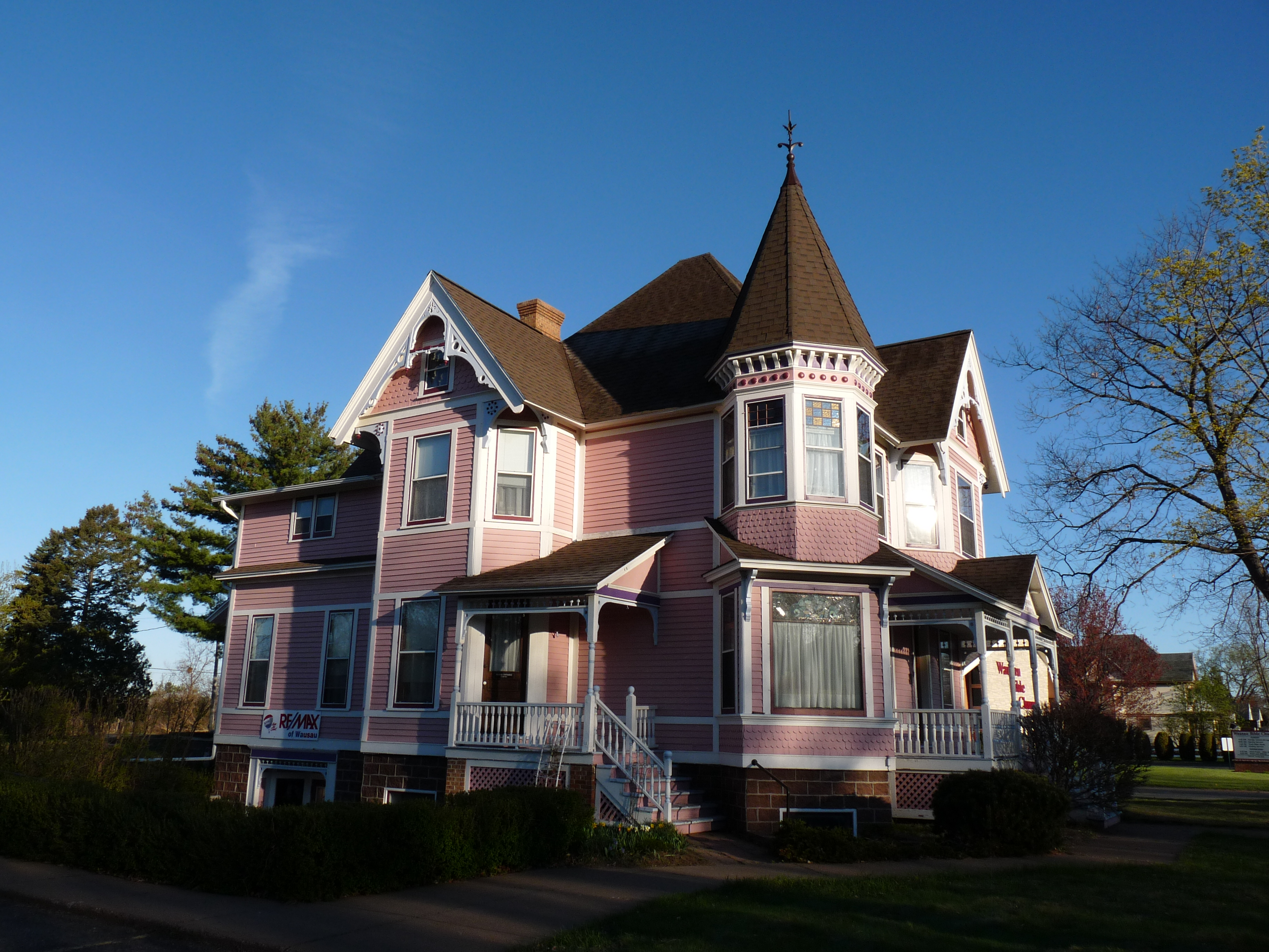 April 2012 blog posts barker and hedges real estate blog for Queen anne victorian house