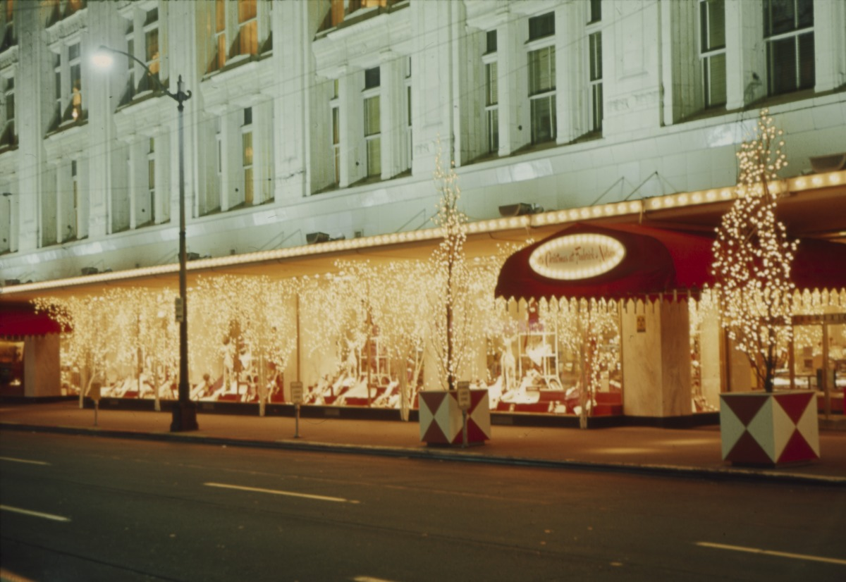 File Holiday Lighting At Frederick Nelson 1965