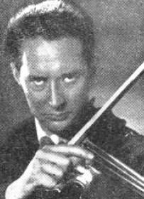 Slovene violinist, musician and music educator