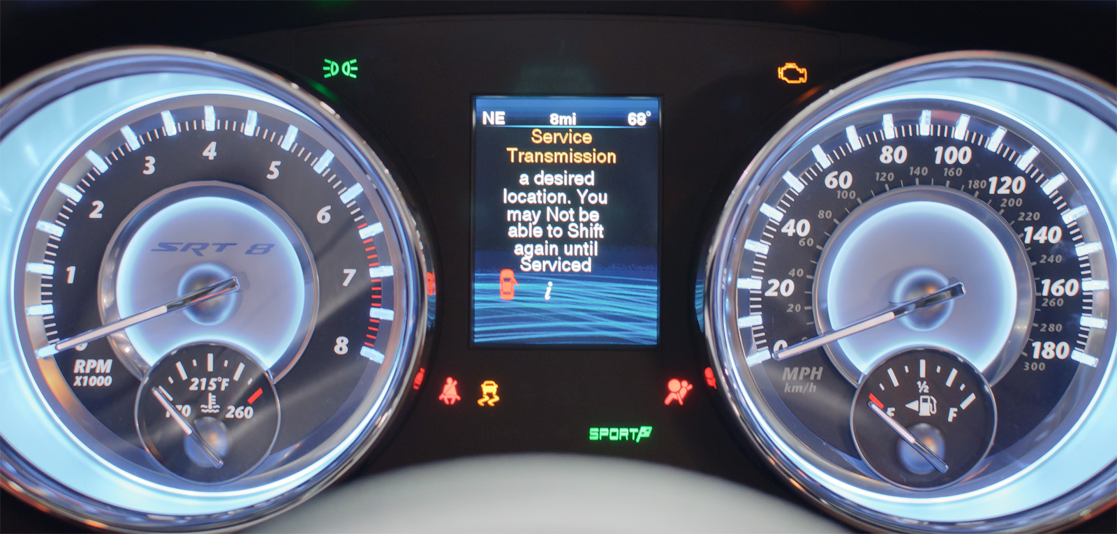 Chrysler 300srt >> File:Instrument Cluster, Chrysler 300 SRT-8 (US) - Flickr - skinnylawyer.jpg - Wikimedia Commons