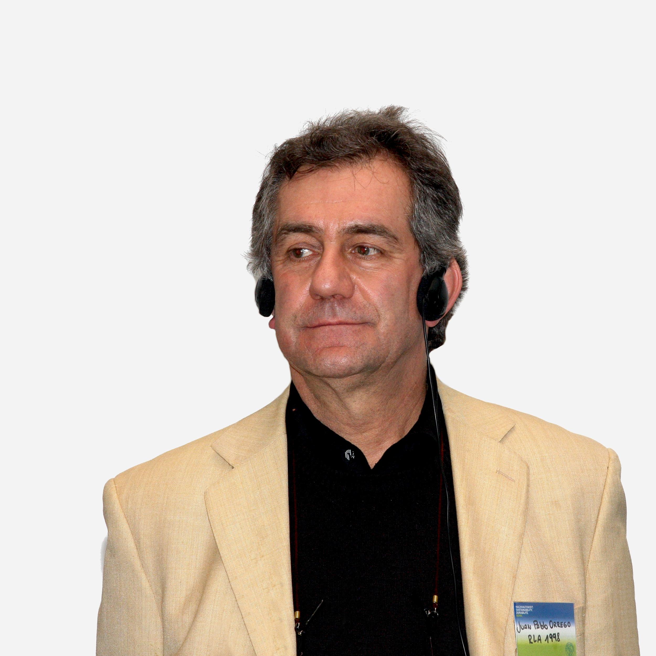 Juan Pablo Orrego en 2010.