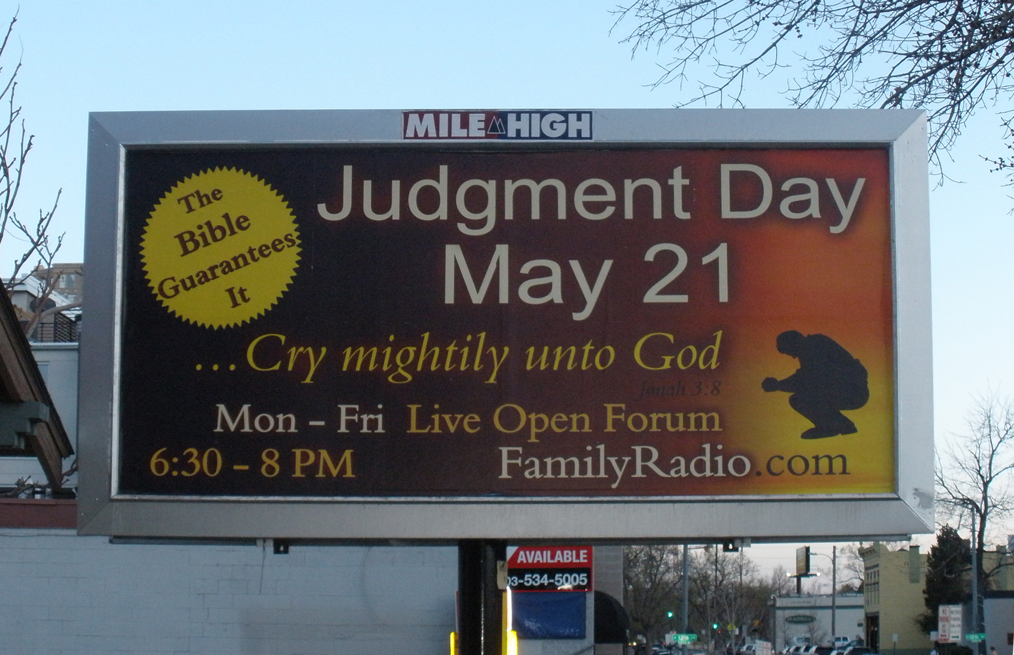 Judgment Day 21 May 2011