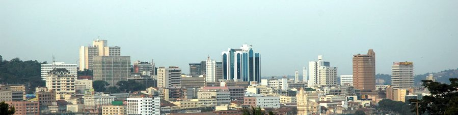 Skyline of Kampala