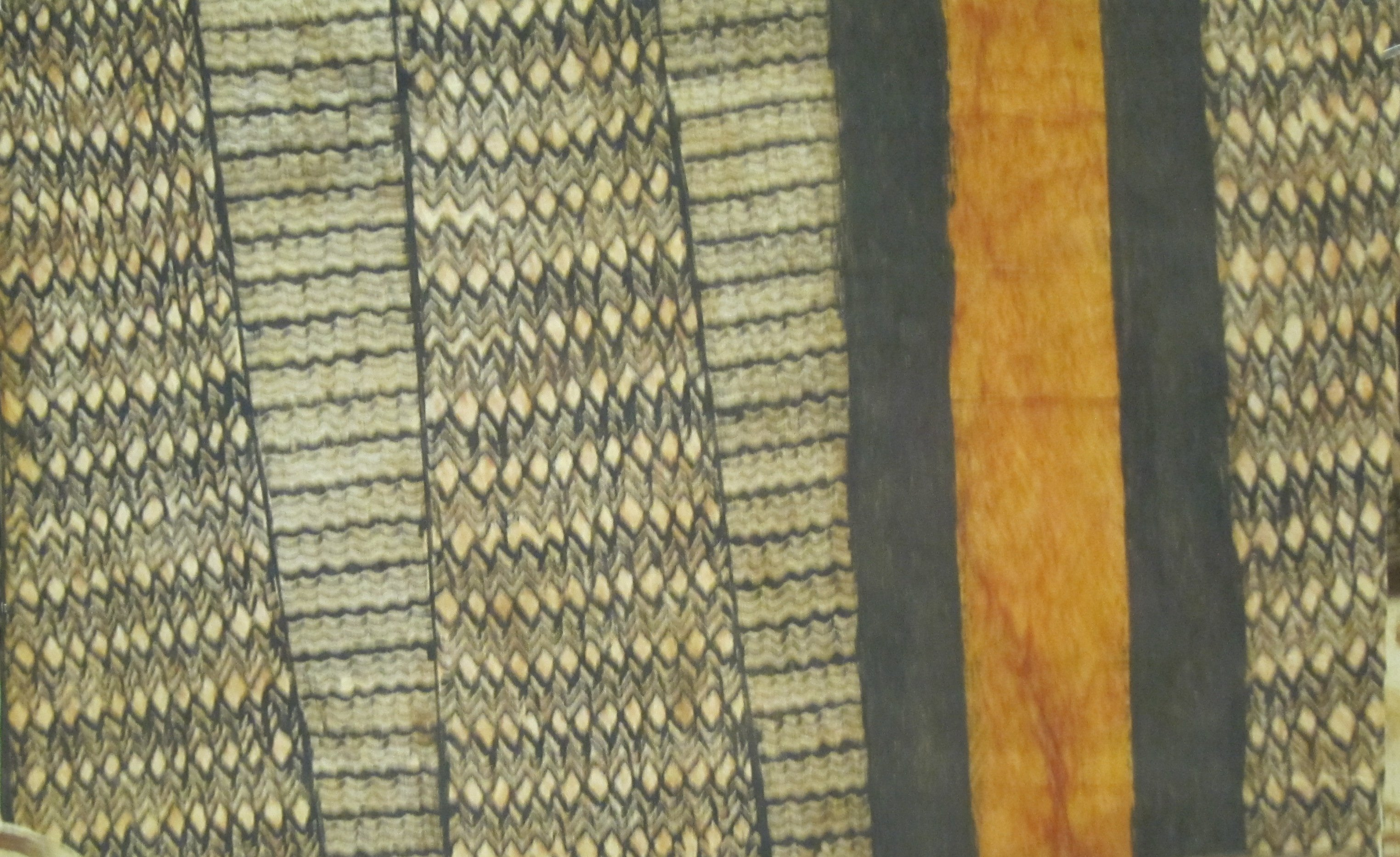 File Kapa Bark Cloth From Hawaii Late 19th Early 20th