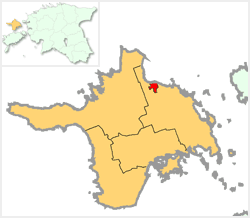 Location of Kärdla