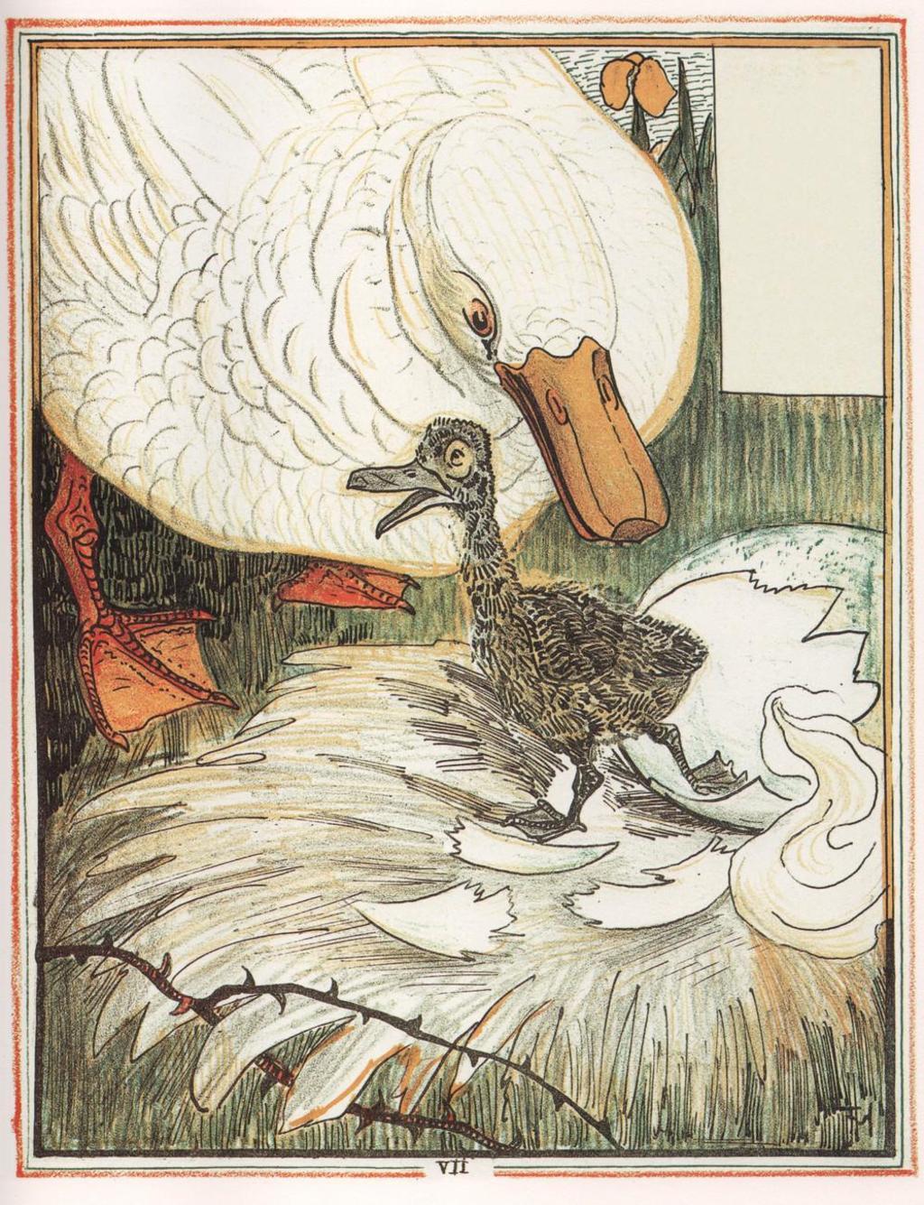 Quelle est votre premier souvenir de lecture? Le-vilain-petit-canard-8-525b2535