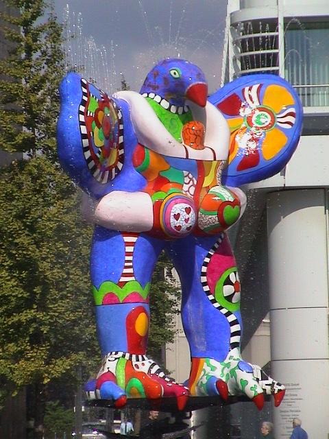 Afbeeldingsresultaat voor niki de saint phalle