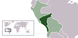 South Peru within the Confederation