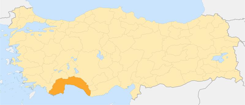 Locator map-Antalya Province.png