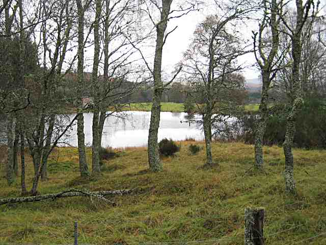 Lochan by the Cateran Trail - geograph.org.uk - 1038015