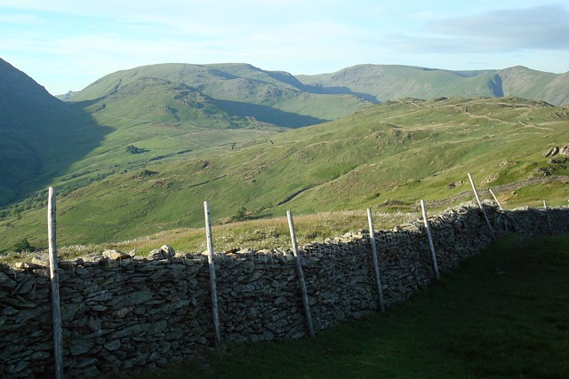 Looking north from Wansfell Pike - geograph.org.uk - 844300