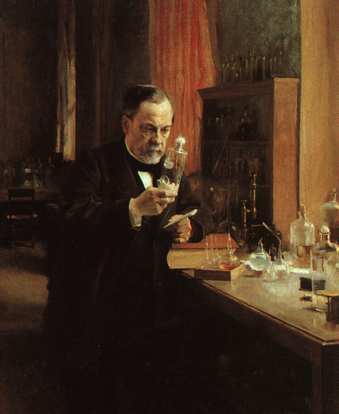 Louis Pasteur, Foto von Wikipedia: http://upload.wikimedia.org/wikipedia/commons/9/97/Louis_Pasteur.jpeg