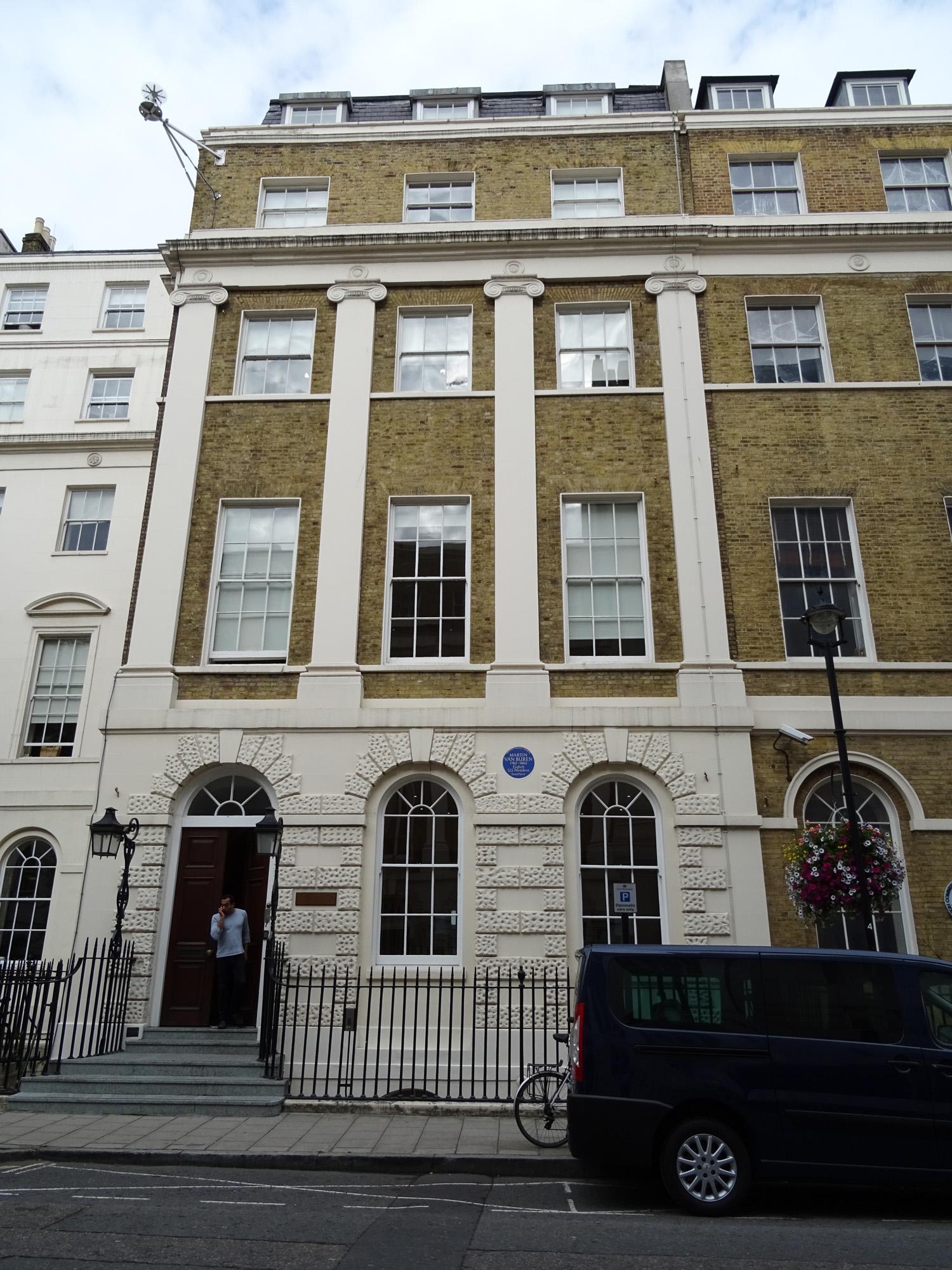 File Martin Van Buren 7 Stratford Place Marylebone London W1c 1ay Jpg Wikimedia Commons