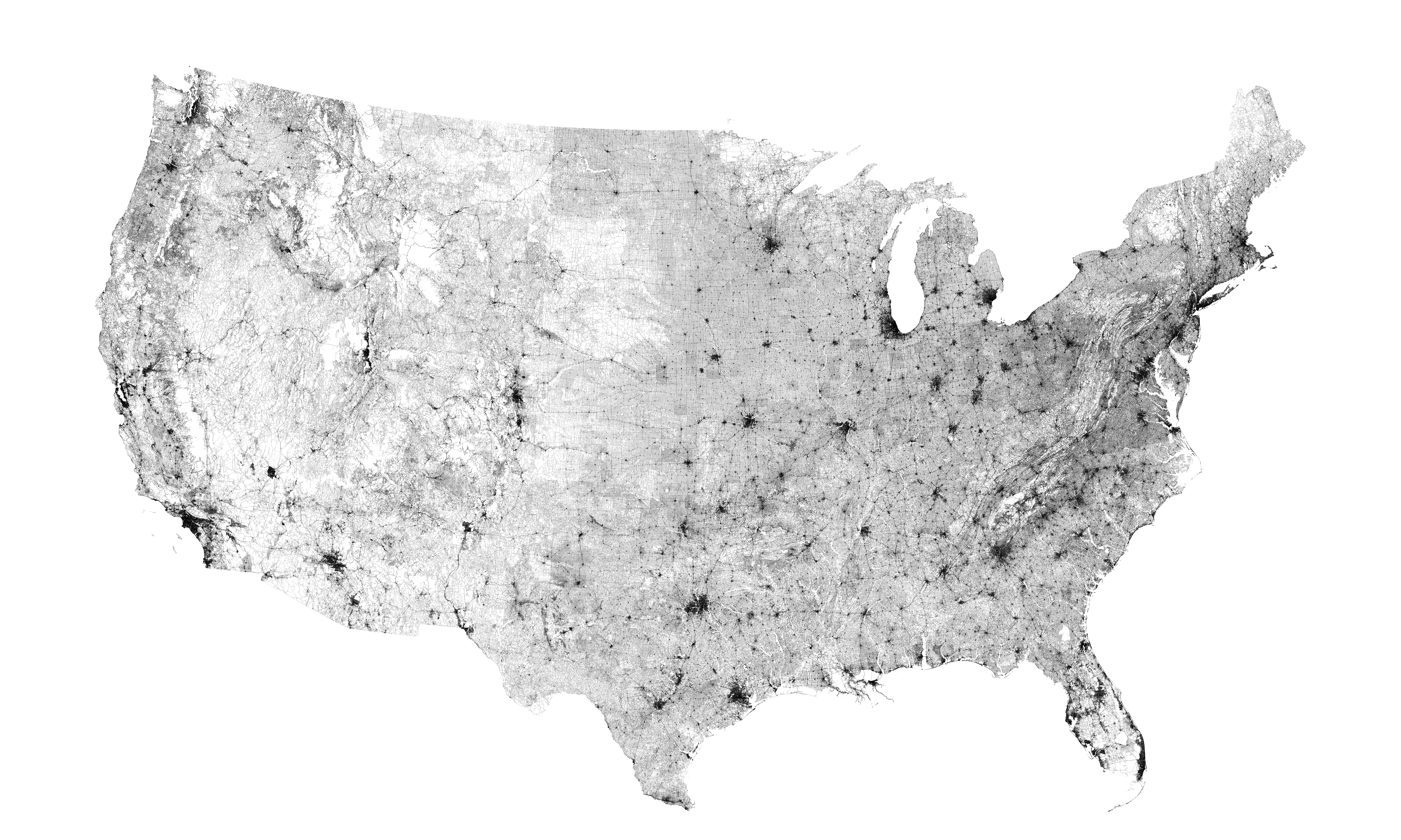 Accelerating LiDAR Road And Pavement Condition Surveys Jason - Data map of us